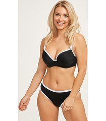 back to black underwire molded bikini top