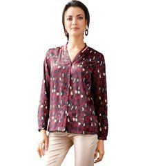 blouse amy vermont bordeaux::zwart