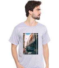 camiseta sandro clothing feeling cinza - cinza - masculino - dafiti