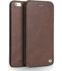 qialino slim top-layer genuine leather shell for iphone 6s plus / 6 plus 5.5 inc