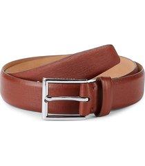 cole haan men's textured leather belt - british tan - size 36