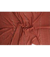 pañuelo sequin marrón humana