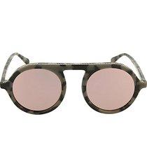 core 51mm round sunglasses