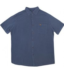 camisa viscosa blue kaya unite