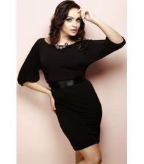 sukienka iris mod.nr.3 czarny
