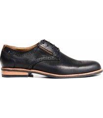 zapato negro briganti hombre henrik