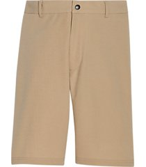 msx by michael strahan modern fit activewear shorts tan