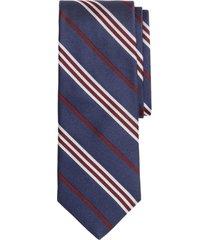 corbata textured bb#1 stripe azul brooks brothers