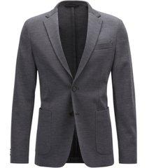 boss men's slim-fit stretch blazer
