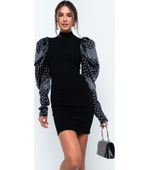akira bonnie and clyde long sleeve bandana mini dress