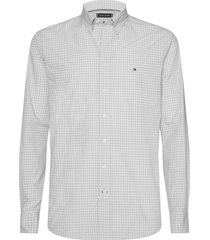 camisa classic gingham rosa tommy hilfiger