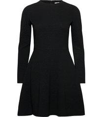 dresses knitted knälång klänning svart edc by esprit