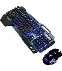 tecnología recargable k680 wrangler conjunto de mouse y teclado inalám