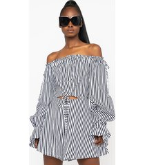 akira in your dreams off the shoulder romper