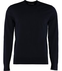 dolce & gabbana crew-neck virgin wool sweater