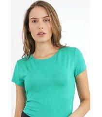 blusa lunender básica verde - kanui
