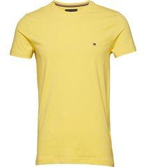 stretch slim fit tee t-shirts short-sleeved gul tommy hilfiger