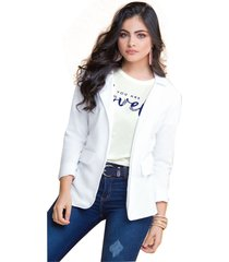 chaqueta adulto femenino blanco marketing  personal