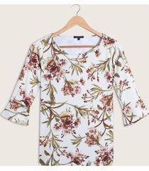 camiseta de flores-xs