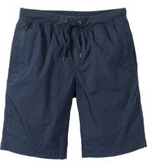 bermuda con cinta comoda (blu) - bpc bonprix collection