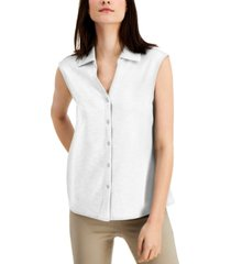 alfani sleeveless blouse, created for macy's