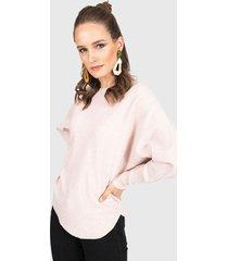 sweater privilege rosa - calce oversize