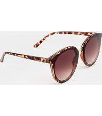 kendall cat eye sunglasses - brown