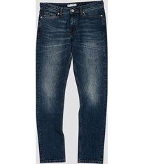 slim jeans - blå