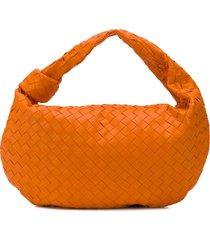 bottega veneta bv jodie shoulder bag - orange