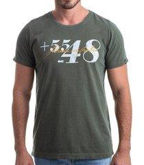 camiseta clothis area code masculina