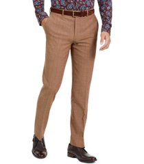 bar iii men's slim-fit active stretch performance gold suit separate pants, created for macy's
