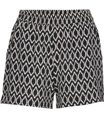 onlnova lux shorts aop wvn 9 shorts flowy shorts/casual shorts svart only