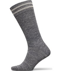 linen striped sock underwear socks regular socks grå hackett london