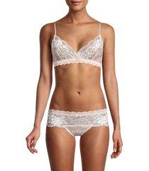 hanky panky women's alexia bralette - white - size xs