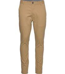 akbo pants chinos byxor beige anerkjendt