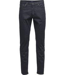 slim desert jeans slimmade jeans svart gant