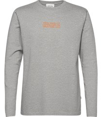 peter long sleeve t-shirts long-sleeved grijs wood wood