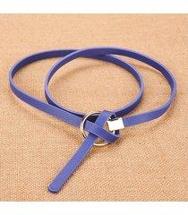 cinturón para mujer/estilo accesorio/ sra. cinturón-azul