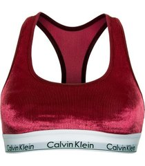 calvin klein modern cotton velvet rib bralette * gratis verzending *