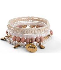 braccialetti (set 6 pezzi) (beige) - bpc bonprix collection