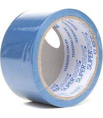 fita de demarcação super tape azul 48mm com 15 metros