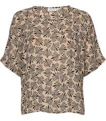 daly blouses short-sleeved brun masai