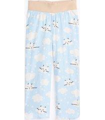 loft maternity cat cropped pajama pants