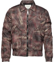 light bomber with reflective elastic cord detail at the slee bomberjack jack rood tonsure