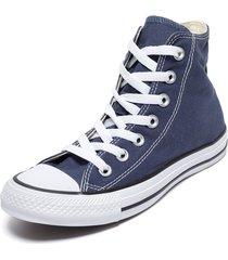 zapatilla azul converse