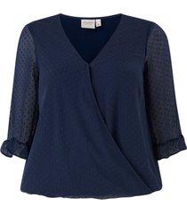 blus jrmaggie 3/4 sleeve blouse