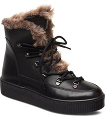 whistler boots shoes boots ankle boots ankle boots flat heel svart twist & tango