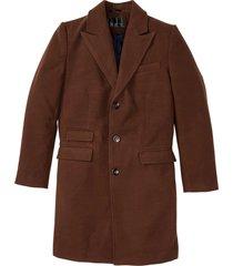 cappotto in simil lana (marrone) - bpc selection
