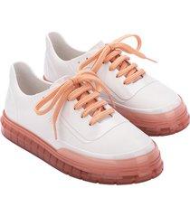 teni blanco rosa melissa classic sneaker ad