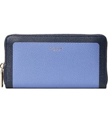margaux leather zip-around wallet